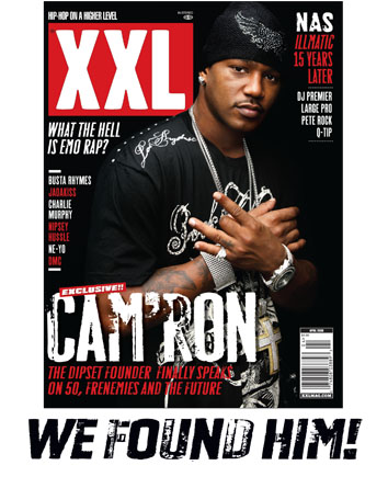 Cam'ron's Welcome Back Coverstory on XXL