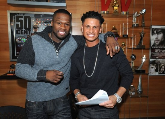 50 Cent Signs Jersey Shore's DJ Pauly D To G-Note/ G-Unit Records