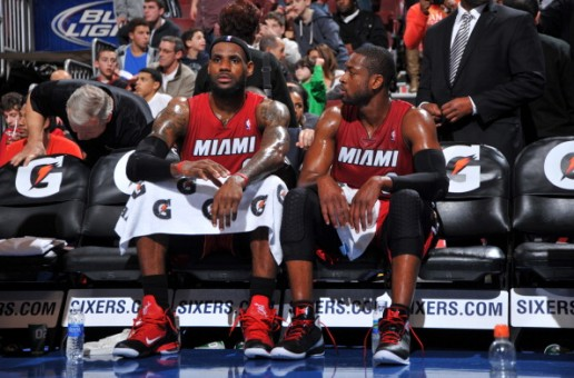 D-Wade & LeBron James Debut New Player Edition Kicks in Philly
