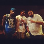 Fabolous, DJ Clue & DJ Khaled In The Studio