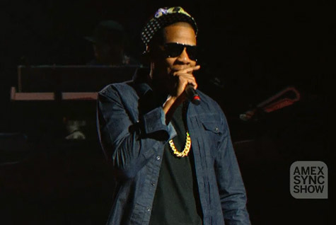 AMEX Sync Show: Jay-Z Live from SXSW (Video)