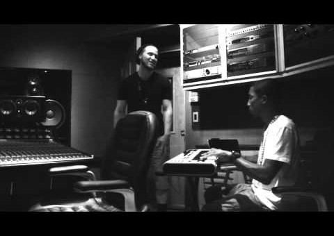 Mike Posner & Pharrell In The Studio (Video)