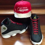 Air Jordan 13 Preview (Black, Grey, Red, Gold) (@CP3 Exclusive)