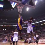 Los Angeles Kings: Kobe Posterizes Chris Paul (Video)