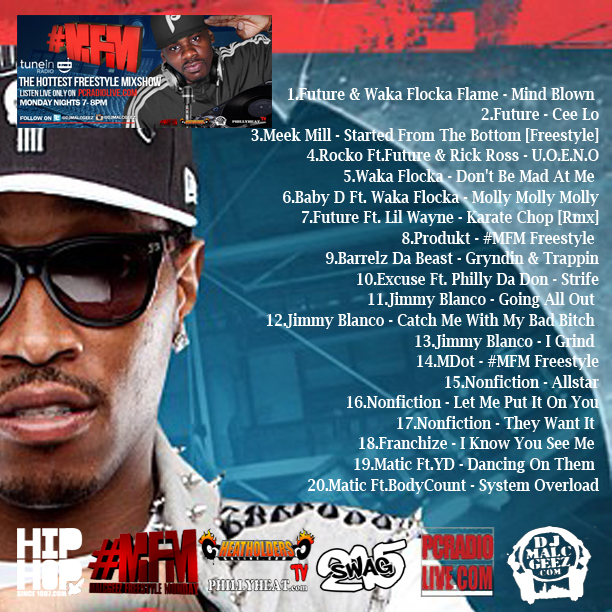 backMFM5 DJ Malc Geez   #MFM [Street Edition] 5 The Mixtape