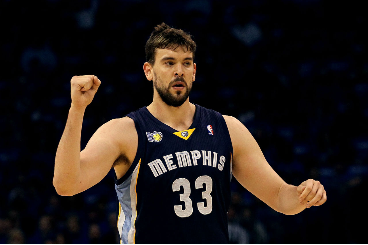 marc gasol how tall
