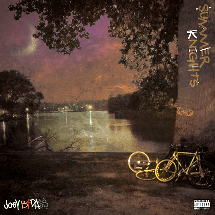 Joey Badass Summer Knights art Joey Bada$$   Amethyst Rockstar Ft. Kirk Knight (Prod. MF DOOM)