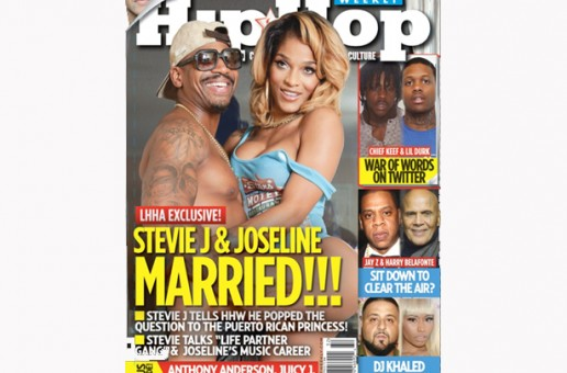 Stevie J & Joseline Officially Tie The Knot (Photo)
