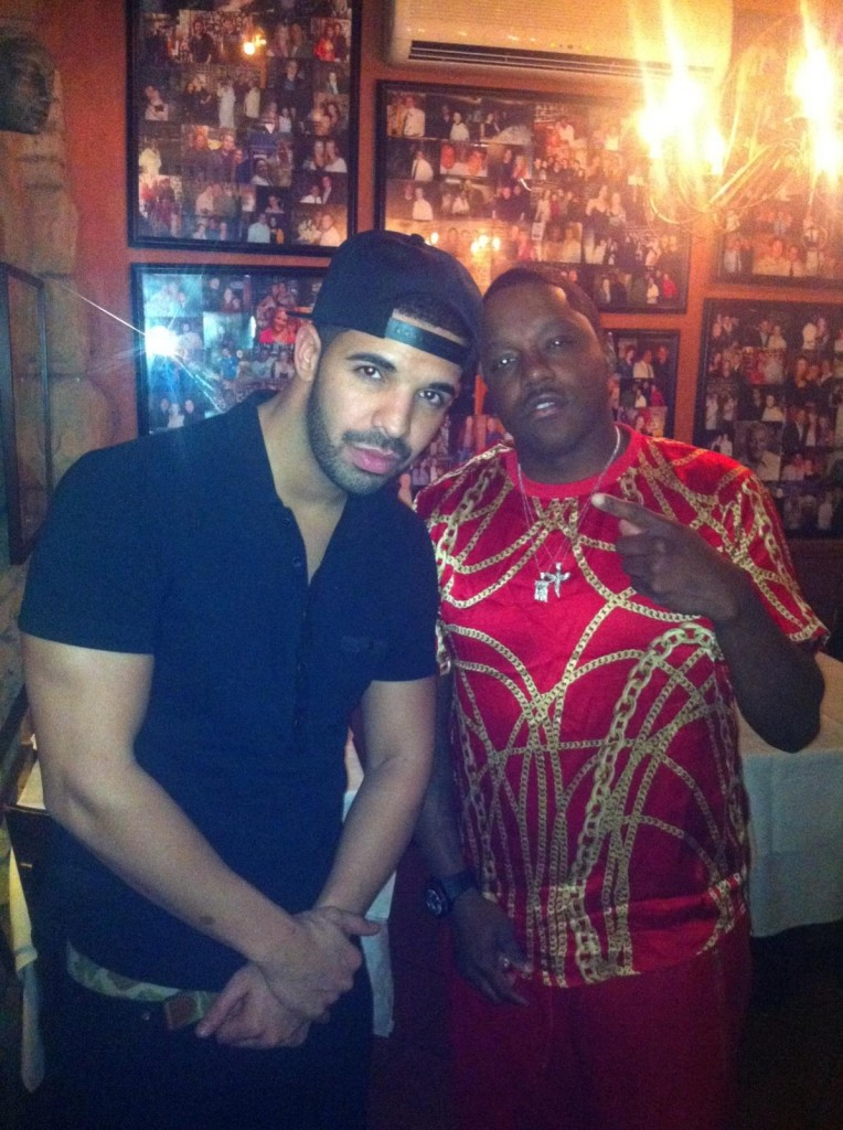 Drake & Mase In The Studio (Photo)
