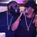 Diddy & Rick Ross Takeover Club Nokia (Video)