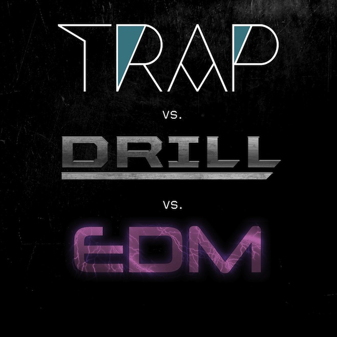 trap Trap vs. Drill vs. EDM   AaraabMuzik Ft. Young Chop & Kino Beats (Instrumental Album)