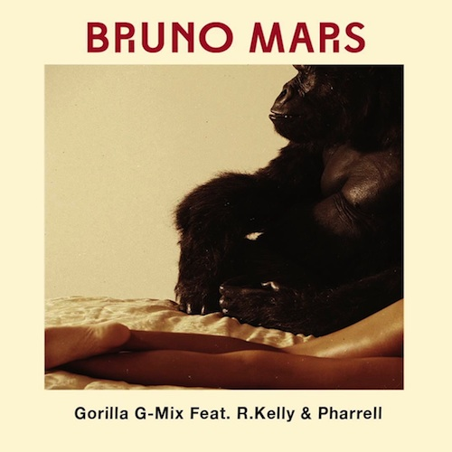 bruno mars gorilla remix ft r kelly pharrell HHS1987 2013 Bruno Mars – Gorilla (Remix) Ft R.Kelly & Pharrell