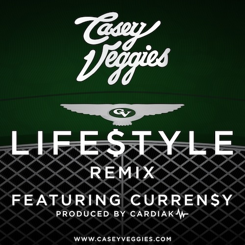 Casey Veggies – Life$tyle (Remix) Ft Currensy