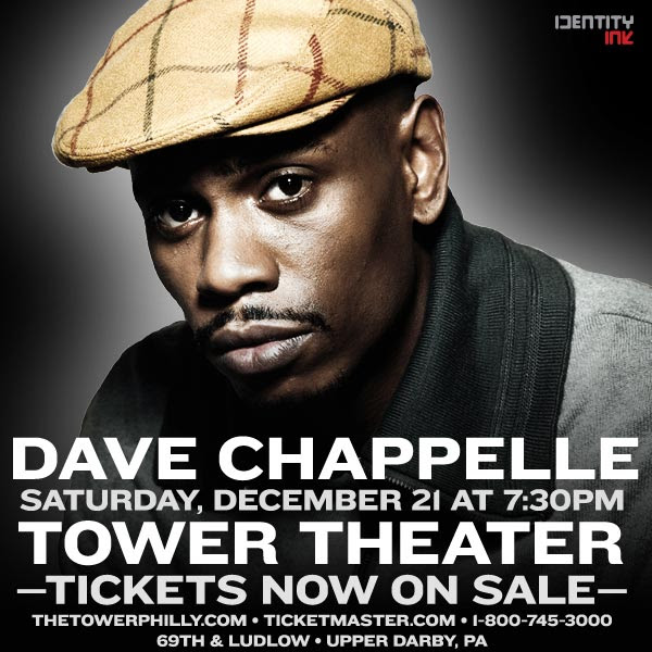 Win Tickets To See Dave Chappelle Live This Saturday in Philly