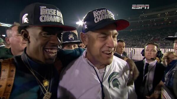 Bc8FOVBCYAAwG U Rich Homie Quan Joins Michigan State at the Rose Bowl (Photos)