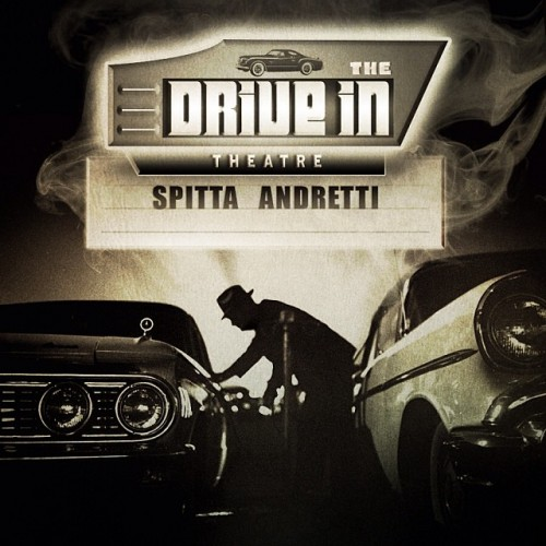 """Curren$y """"The Drive In Theatre"""" artwork"""