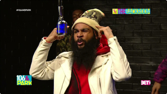 QWI07Kd Flatbush Zombies – 106 & Park's The Backroom Freestyle (Video)