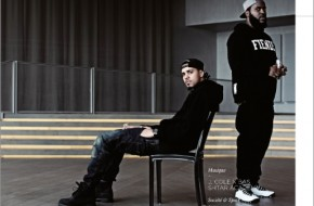 J. Cole & Bas Cover OFIVE Magazine (Photo)