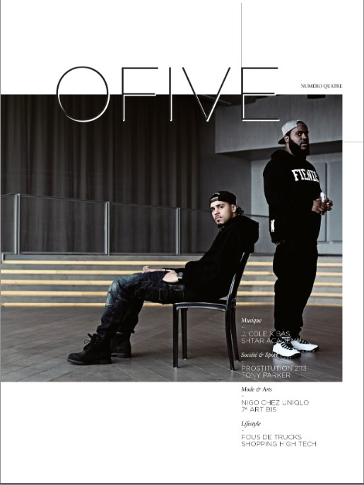 Screen Shot 2014 01 08 at 3.34.45 PM 1 J. Cole & Bas Cover OFIVE Magazine (Photo)