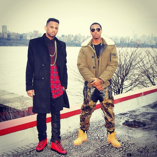 "Fabolous & Jeremih on set of ""Thim Slick"""