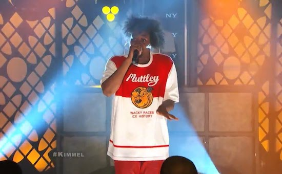 XXHklQf Danny Brown & Megan Jones – 25 Bucks (Live On Jimmy Kimmel) (Video)