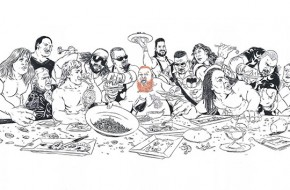 Action Bronson Unveils His Michael Marsicano Created 'Last Supper' Visual