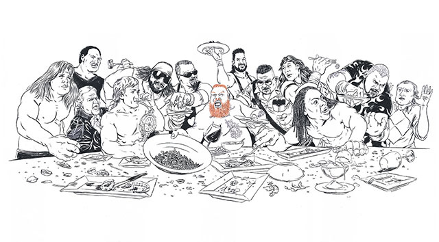 action1 Action Bronson Unveils His Michael Marsicano Created Last Supper Visual