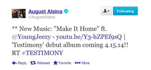 "August Alsina Announces A Release Date For ""Testimony,"" His Debut Album"