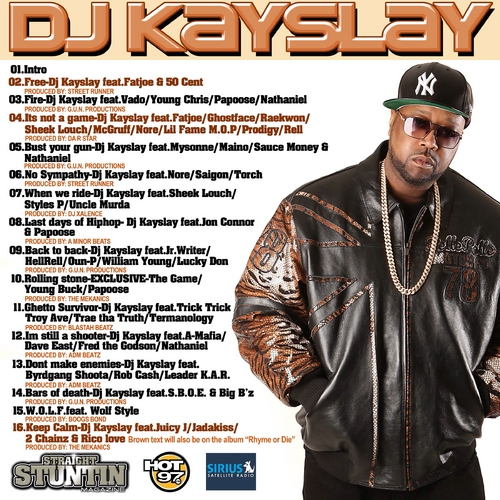 DJ Kay Slay - The Rise Of A City (Mixtape)