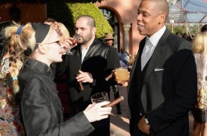 jay z rihanna meek mill j cole wale dj mustard more attend roc nations 2014 pre grammy brunch photos HHS1987 2014 6 298x196 Jay Z, Rihanna, Meek Mill, J. Cole, Wale, DJ Mustard & more Attend Roc Nations 2014 Pre Grammy Brunch (Photos)