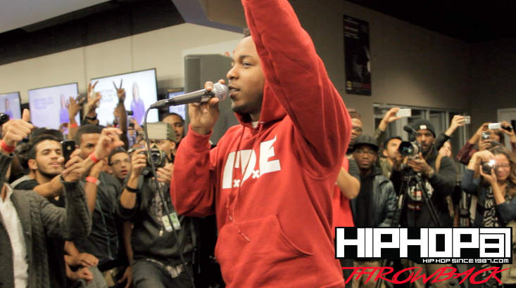 kendrick best buy Kendrick Lamar Performs Backseat Freestyle At Best Buy In NYC (Throwback Video) (Shot By Rick Dange)