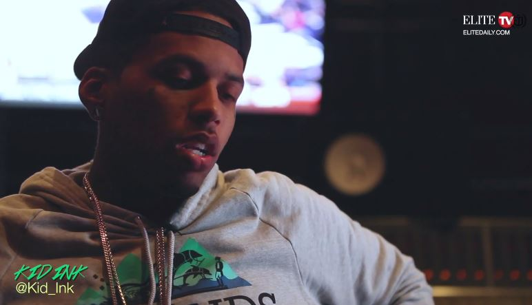 kidinkXelitedailyvideo Kid Ink Talks His Path To Fame, Crossover Success & More With Elite Daily (Video)