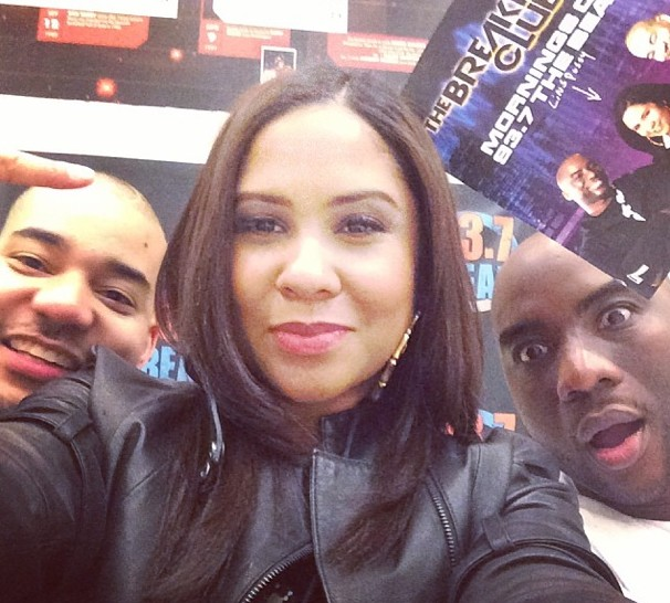 The Breakfast Club Live From Houston 93.7 The Beat