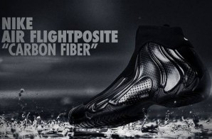 "Nike Air Flightposite ""Carbon Fiber"" (Photos & Release Date)"