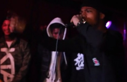 """A$AP Ant Performs At New York's """"The Come Up Radio Show"""" (Video)"""