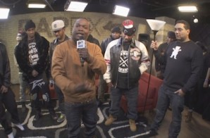 Isaiah Rashad, Yung Reallie, City Boy Dee, Coca, Tweez & Money Ming – MTV RapFix Live Freestyle (Video)