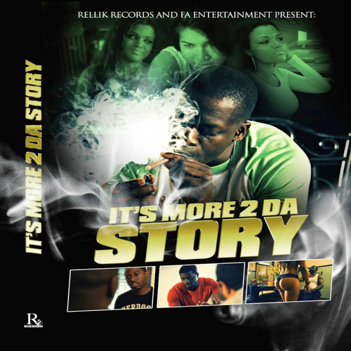 Black Deniro AR ABYoung Chris Murda Mook Gilli front large  Black Deniro   Its More 2 Da Story (Soundtrack)