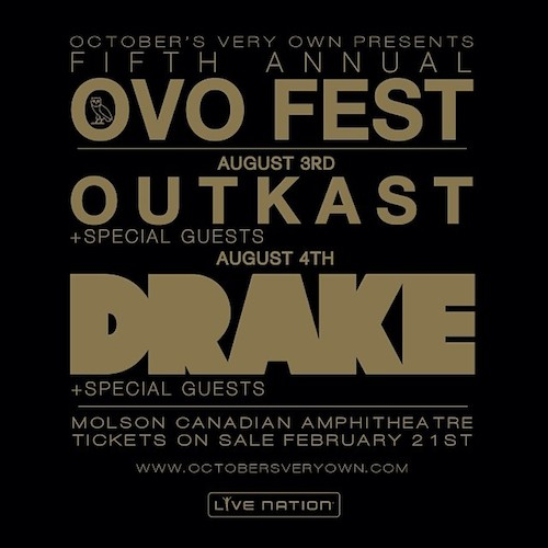 JVYPG3C Drake Announces OVO Fest 2014 Lineup