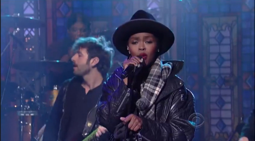 Lauryn Hill Letterman Lauryn Hill Covers The Beatles Something On Letterman