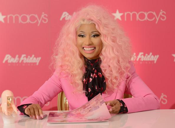 Nicki+Minaj+Pink+Friday+Fragrance+Launch+ Or2mPPvqjZl Nicki Minaj Announces New Album Title, The Pink Print