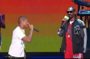 Pharrell, Diddy, Snoop Dogg, Nelly & Busta Rhymes Introduce the 2014 NBA All Stars (Video)