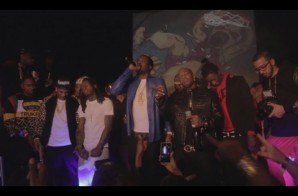 Meek Mill Performs at Birdman's All-Star Weekend B