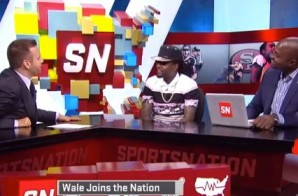 Wale Joins ESPN's SportsNation to Grade his Celebrity All-Star Game Performance (Video)