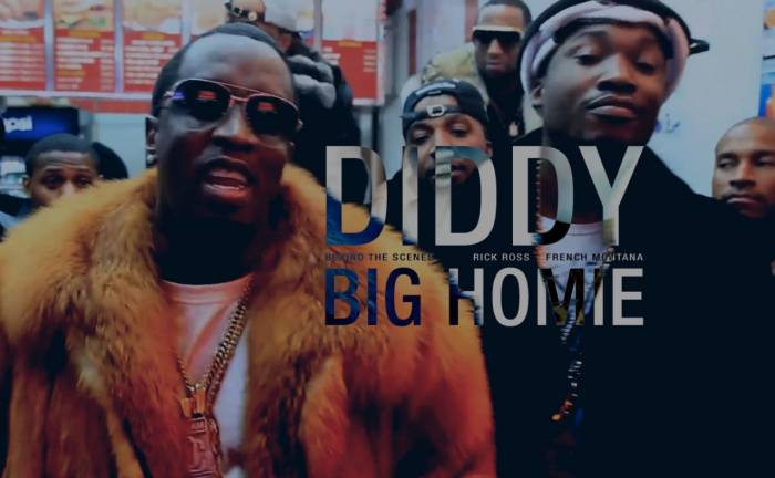 Diddy - Big Homie Ft. Rick Ross & French Montana (Behind The Scenes Video)