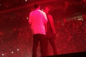 N*ggas in Berlin: Drake Brings Out Kanye West in Germany (Video)