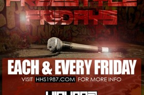 Enter (2-7-14) HHS1987 Freestyle Friday (Beat Prod by F Block Savage) SUBMISSIONS END (2-6-14) AT 6PM EST