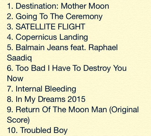 kid cudi tracklist Stream Kid Cudis Newly Released Satellite Flight: The Journey To Mother Moon Album