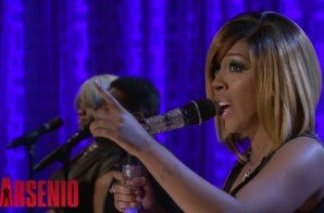 """K. Michelle Performs """"Can't Raise A Man"""" on the Arsenio Hall Show (Video)"""