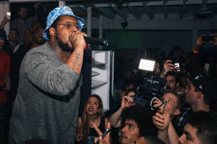 o1 Born x Raised & Schoolboy Qs Oxymoron Release Party (Photos)