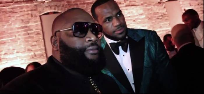 rossgq Rick Ross, Lebron James & The Roots Perform FWMYKIGI At GQ All Star Weekend Party